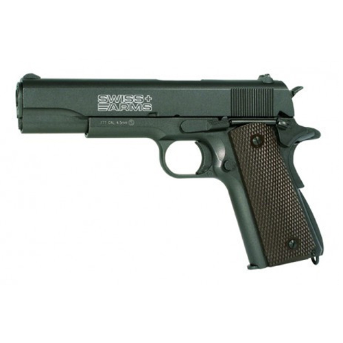 swiss arms p1911 blowback