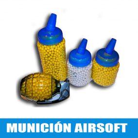 Munición airsoft