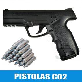 Pistolas de CO2