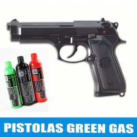 Pistolas green gas