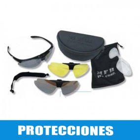Protecciones y equipamiento