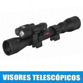 Visores telescópicos para airsoft