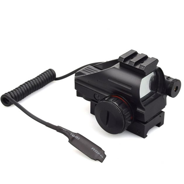 red and green dot reflex sight