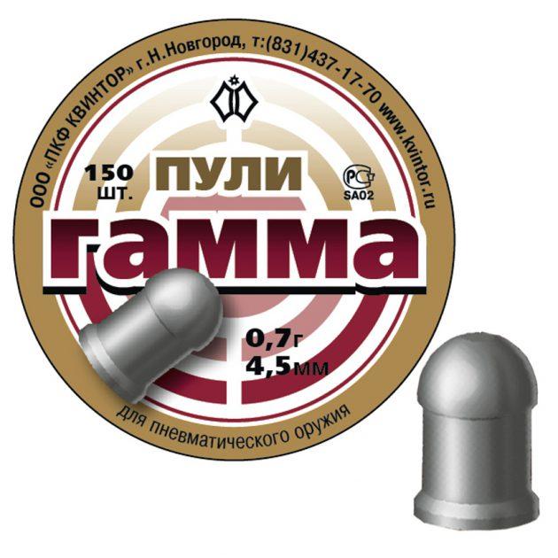 kvintor Gamma