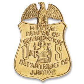 placa del fbi